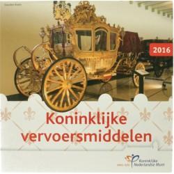 Nederland Themaset 2016 'Koninklijke vervoersmiddelen'