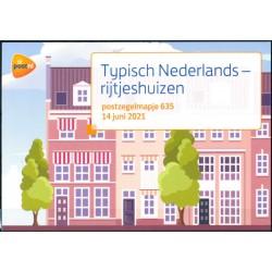 2021 Nederland postzegelmapje   Typisch Nederlands - Rijtjeshuizen