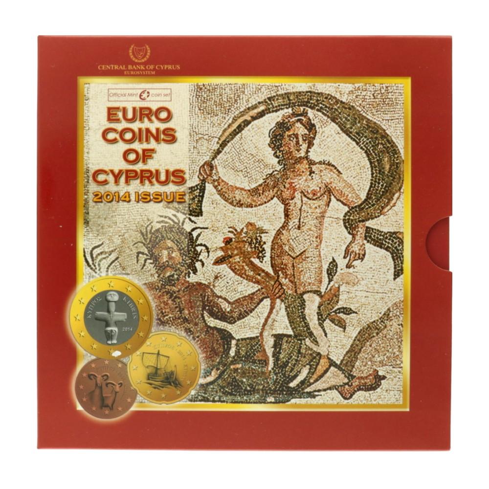 Cyprus BU-set 2014