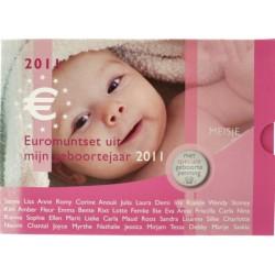 Nederland Geboorte BU-set 2011 'Meisje'