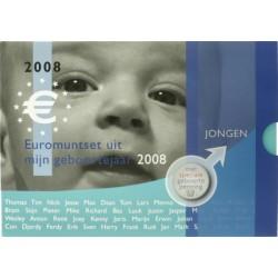 Nederland Geboorte BU-set 2008 'Jongen'