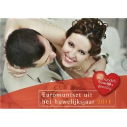 Nederland Huwelijk BU-set 2011