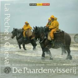 Belgie BU-set 2014 'De Paardenvisserij'