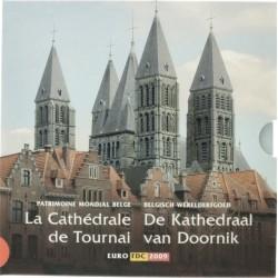 België BU-set 2009 'De kathedraal van Doornik' met gekleurde penning