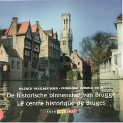 België BU-set 2010 'De historische binnenstad van Brugge' met gekleurde penning
