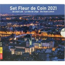 België BU-set 2021 'De stad Luik'