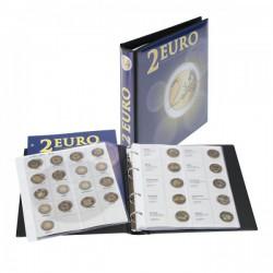 Lindner voordrukalbum Karat voor 2 euromunten