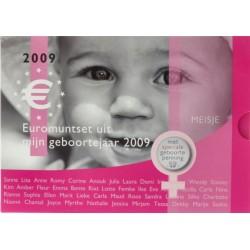 Nederland Geboorte BU-set 2009 'Meisje'