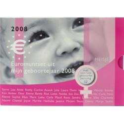 Nederland Geboorte BU-set 2008 'Meisje'
