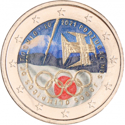 Portugal 2 euro 2021 'Olympische Spelen' in kleur