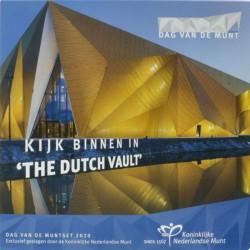 Nederland BU-set Dag van de Munt 2020 'Kijk binnen in the Dutch Vault'
