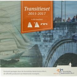 Nederland BU-set 2017 'Transitie set muntmeesters 2015-2017'