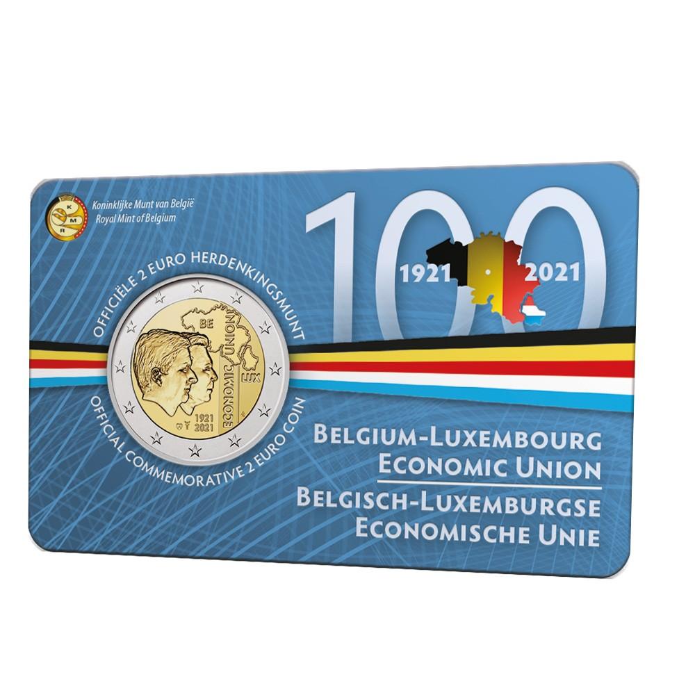 België 2 euro 2021 '100 jaar BLEU' - Leverbaar augustus