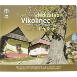 Slowakije BU-Set 2015 'World Heritage Vlkolinec'
