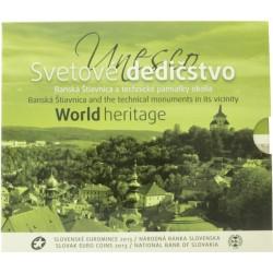Slowakije BU-Set 2013 'World Heritrage'