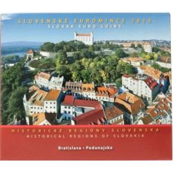 Slowakije BU-Set 2013 'Historische Regionen'
