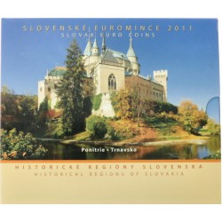 Slowakije BU-Set 2011 'Historische regionen'