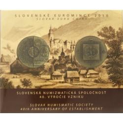 Slowakije BU-Set 2010 '40th anniversary of establishment'
