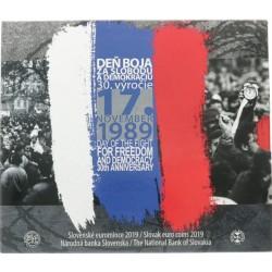 Slowakije BU-set 2019 'Day of the fight for freedom and democracy 30th anniversary'