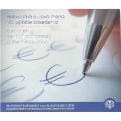 Slowakije BU-Set 2012 '10 jaar euro'