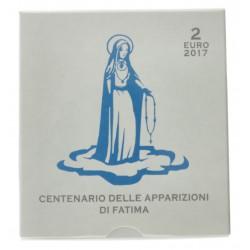 Vaticaan 2 euro 2017 Proof 'Fatima'