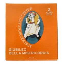 Vaticaan 2 euro 2016 Proof 'Jubileum van barmhartigheid'