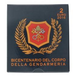 Vaticaan 2 euro 2016 Proof 'Vaticaan Politie'