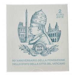 Vaticaan 2 euro 2019 Proof 'Oprichting Vaticaan'