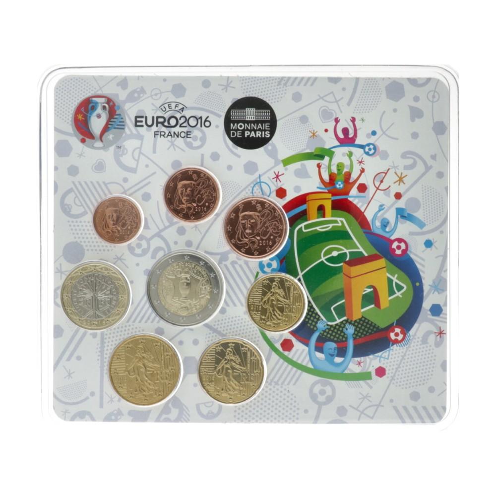 Frankrijk BU-Set 2016 'EURO 2016'