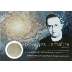 België 5 euro 2016 '50ste overlijdensjaar van Georges Lemaitre'
