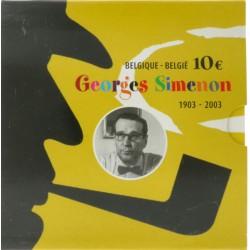 België 10 euro 2003 'Georges Simenon'