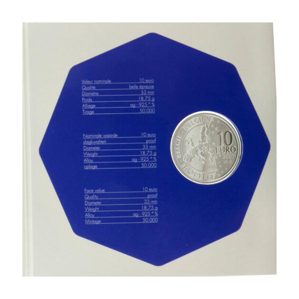 België 10 euro 2007 'Antarctica'