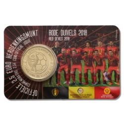 België 2½ euro 2018 'Rode Duivels'