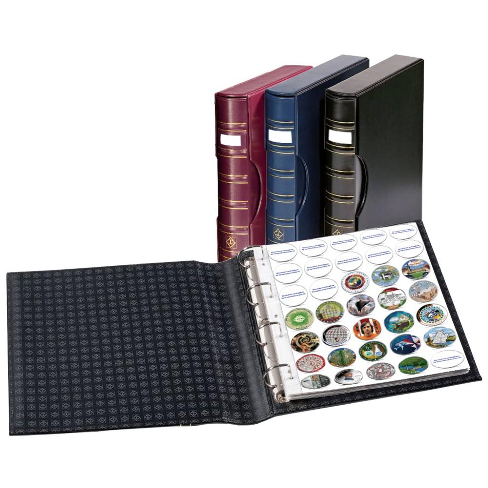 Leuchtturm GRANDE Signum album incl. cassette met gratis 2 encapbladen en catalogus voor gekleurde 5 euromunten