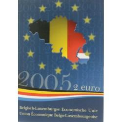 België 2 euro 2005 'Belgisch-Luxemburgse Economische Unie'