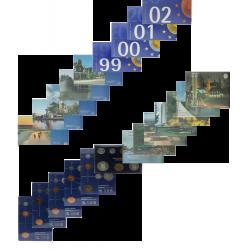 Nederland FDC-sets 1980-2002