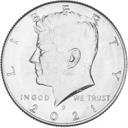 USA Half Dollar Kennedy 2021