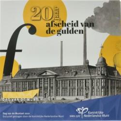 Nederland BU-set Dag van de Munt 2021 'Afscheid van de gulden' Uitverkocht!