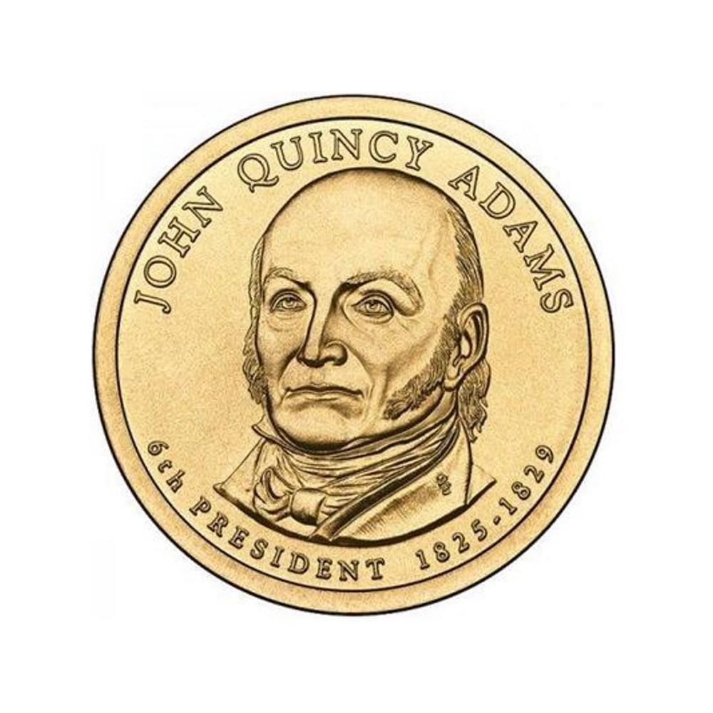 USA $1 Dollar John Quincy Adams 2008