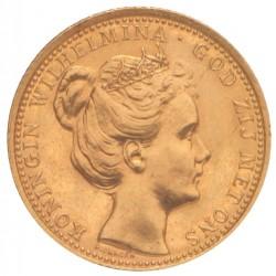 Koninkrijksmunten Nederland 10 gulden 1898