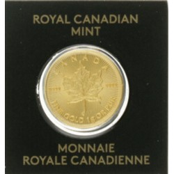 Canada 50 cents 2016 1g fine gold pur 9999