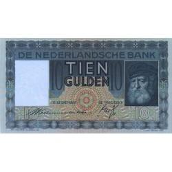 Nederland 10 Gulden 1933 'Grijsaard'