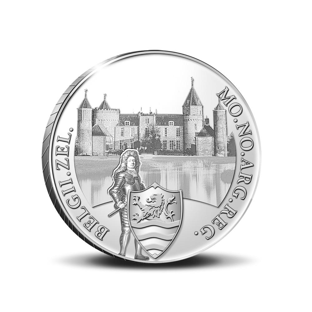 Koninkrijksmunten Nederland Zilveren dukaat 2021 'Kasteel Westhove'