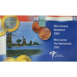 Nederland Mini Euromuntenset 2002