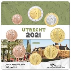 Nederland Jaarset 2021 'Utrecht' in blister