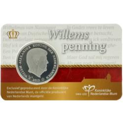 Nederland penning in coincard 2013 'Willemspenning Koning Willem-Alexander'