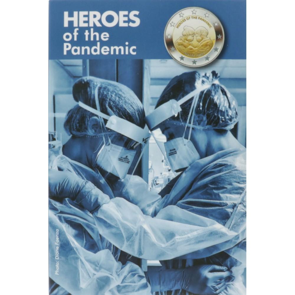 Malta 2 euro 2021 'Heroes of the Pandemic'