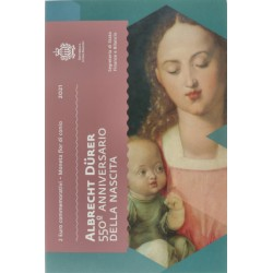 San Marino 2 euro 2021 in blister 'Albrecht Dürer'