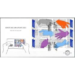 2021 Nederland FDC | Praat met de hand