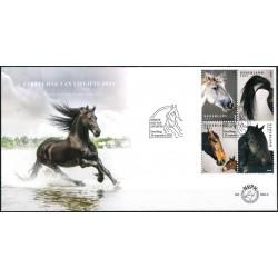2021 Nederland 2 FDC's | Nederlandse paardenrassen